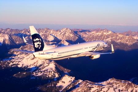 На самолете над Аляской