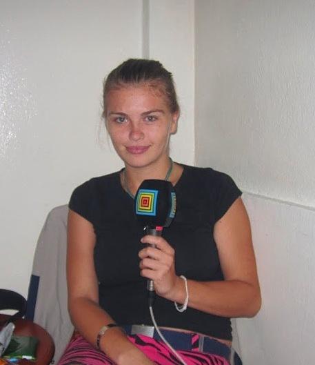 Александра Демитриянова - наш друг и корреспондент радио Словакии