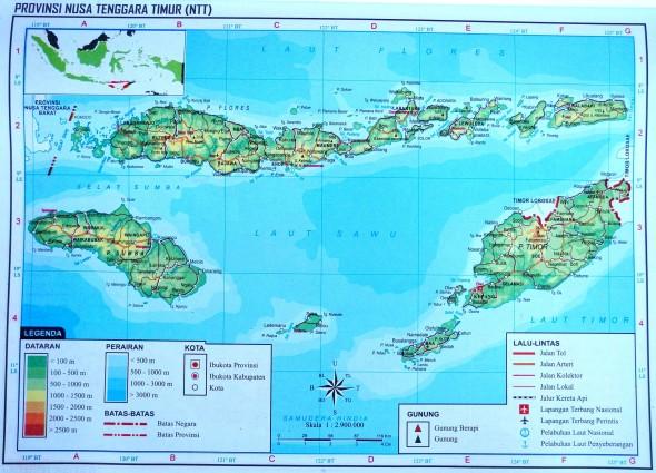 Восточные Малые Зондские острова Индонезии