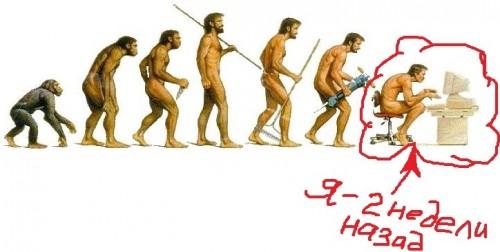 эволюция компьютерщика